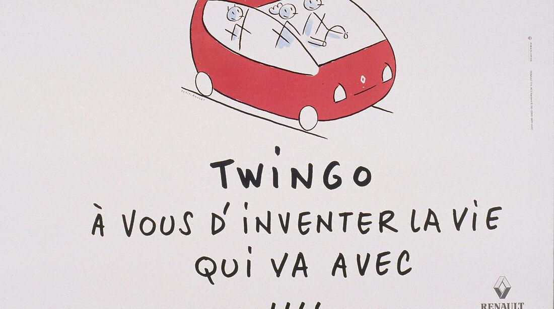 Renault Twingo, 1. Generation, Werbung