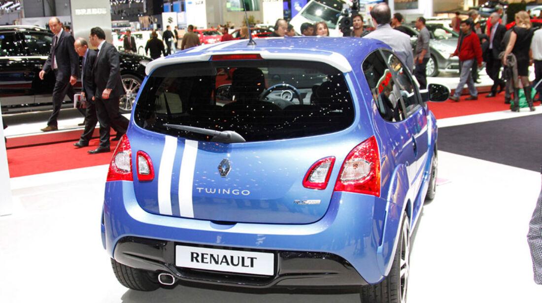Renault Twingo RS Autosalon Genf 2012, Messe