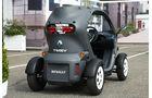 Renault Twizy, Rückansicht