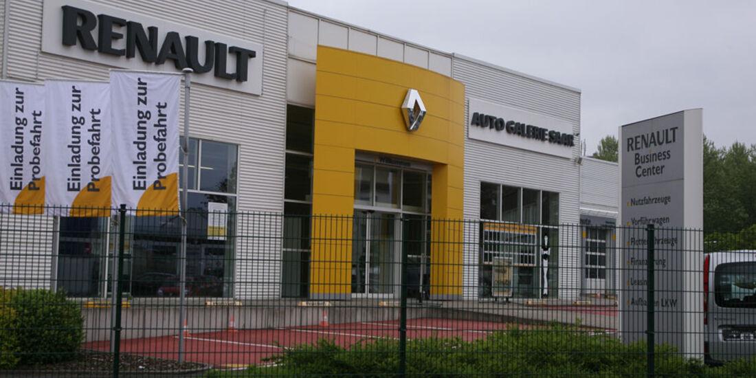 Renault-Werkstatt, Auto-Galerie Saar
