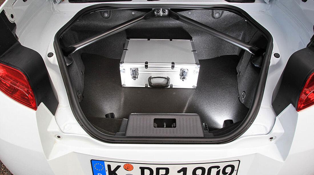 Renault Wind 1.6 16V, Kofferraum