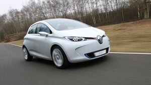 Renault Zoe Front schräg