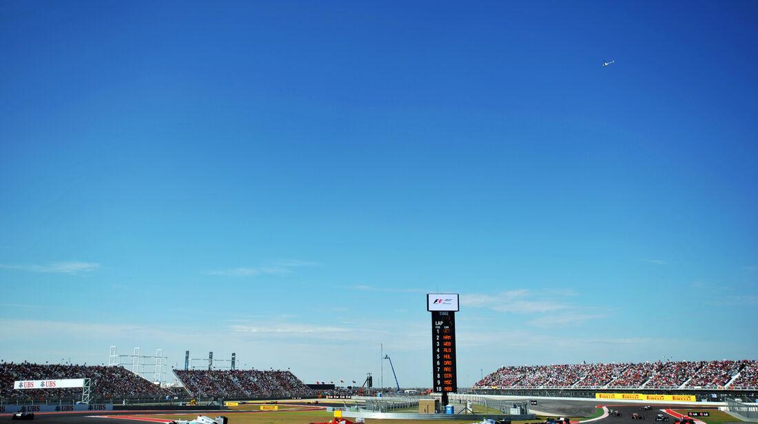 Rennen Formel 1 Austin GP USA 2012