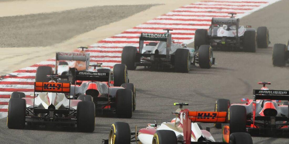 Rennen  - Formel 1 - GP Bahrain - 22. April 2012