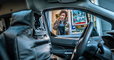 Reportage, Selbstversuch autonomes Fahren, ams0819