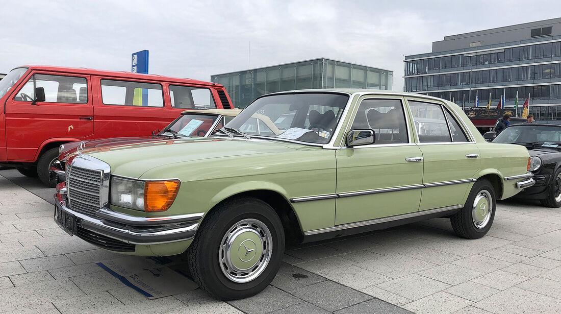 Retro Classics 2018 Markt Mercedes