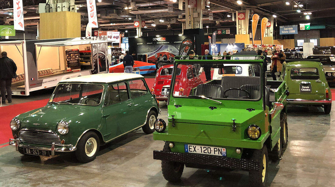 Retromobile (2019) Paris Oldtimer-Markt