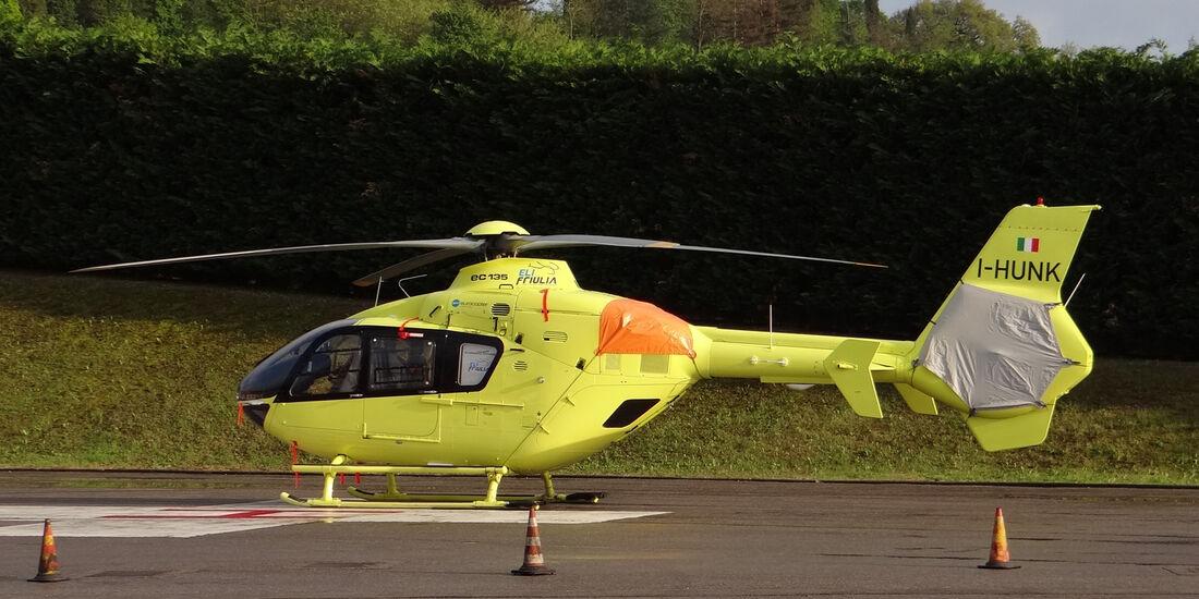 Rettungshubschrauber - Formel 1-Test - Mugello - 1. Mai 2012