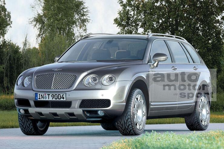 Retusche Bentley SUV