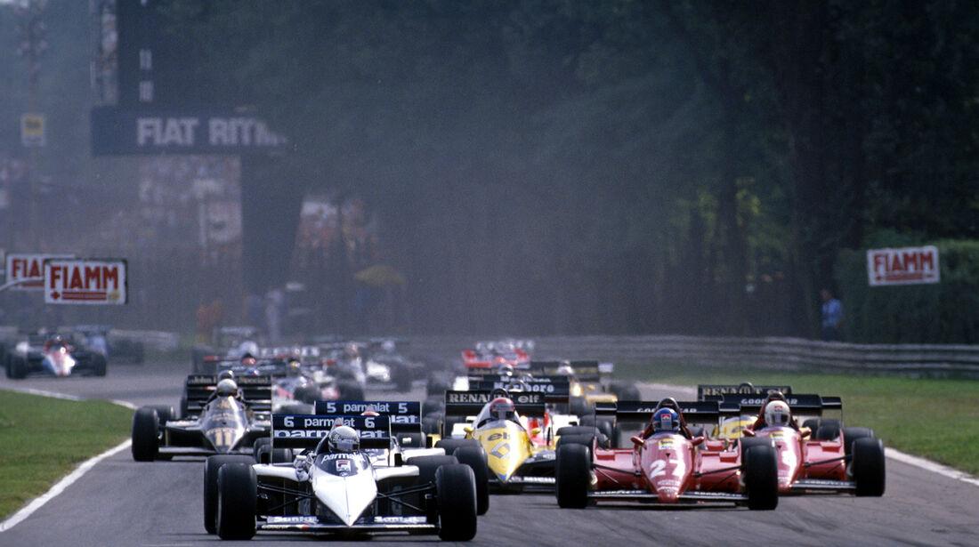Riccardo Patrese - Brabham-BMW BT52B - GP Italien 1983 - Monza