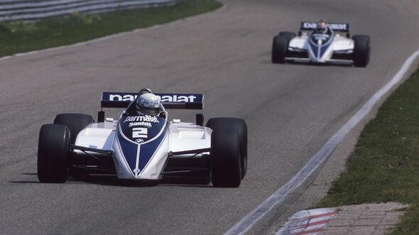 Riccardo Patrese - Nelson Piquet - Brabham-BMW BT50 Turbo - GP Niederlande 1982 - Zandvoort