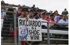Ricciardo-Fans - GP USA 2016