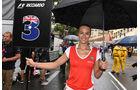 Ricciardo Grid Girl - GP Monaco 2016