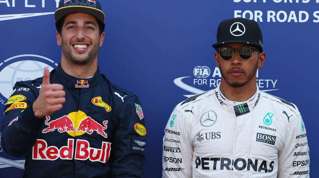 Ricciardo & Hamilton - GP Monaco - Formel 1 - 28. Mai 2016