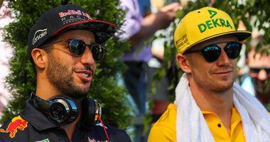 Ricciardo & Hülkenberg - F1 2018