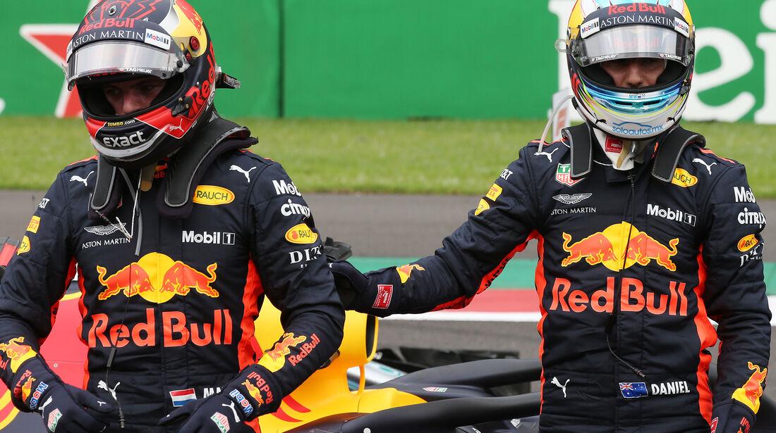 Ricciardo & Verstappen - Formel 1 - GP Mexiko - 27. Oktober 2018