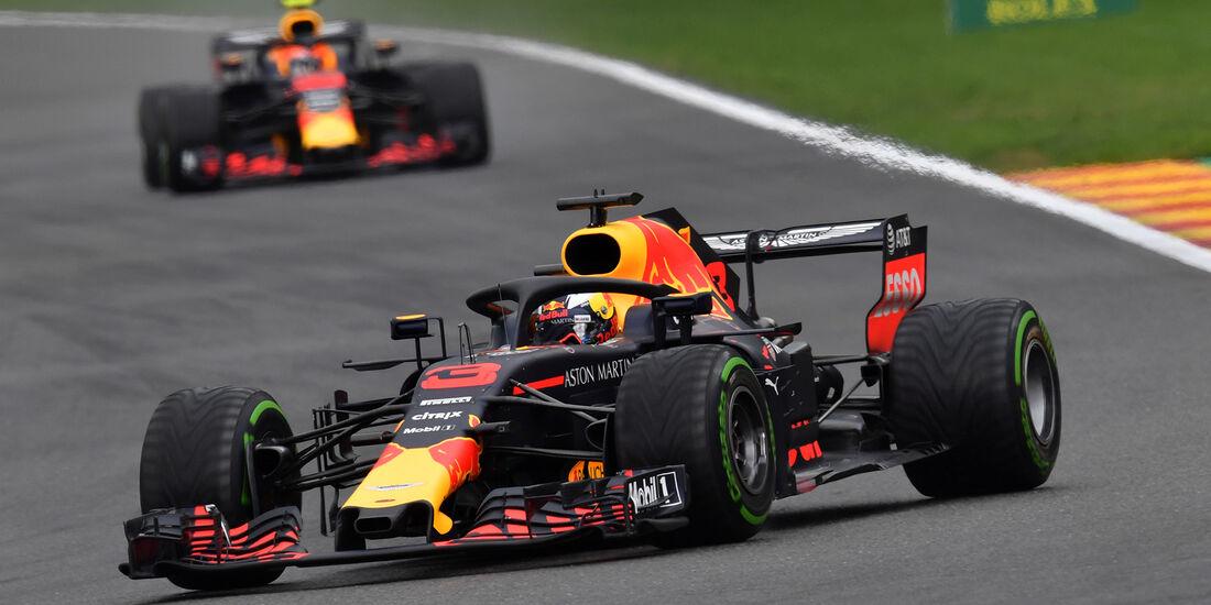 Ricciardo & Verstappen - Red Bull - Formel 1 - GP Belgien - Spa-Francorchamps - 25. August 2018