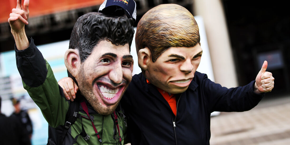 Ricciardo vs. Verstappen - Formel 1 - GP China - Shanghai - 14. April 2018
