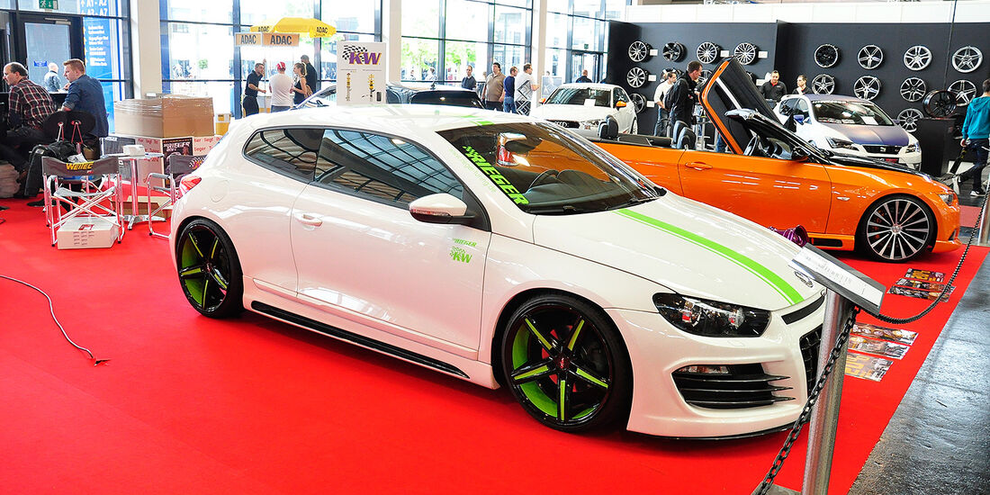 Rieger Tuning, VW Scirocco 2.0 TFSI, Tuning World Bodensee 2014
