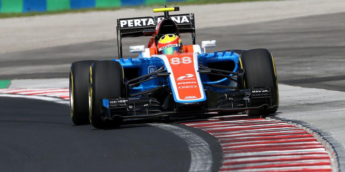 Rio Haryanto - Formel 1 - GP Ungarn 2016