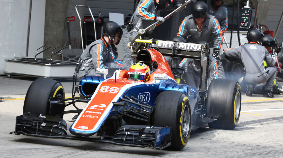 Rio Haryanto - GP China 2016