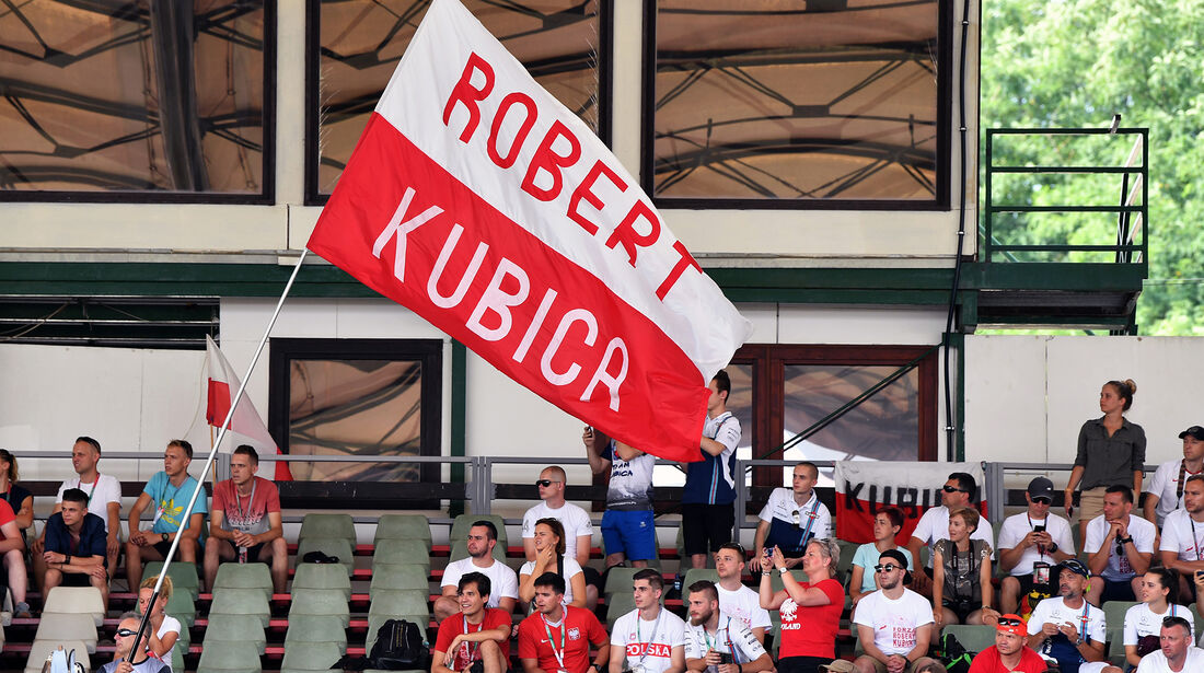 Robert Kubica - Fans - F1-Test - Budapest - 1. August 2018