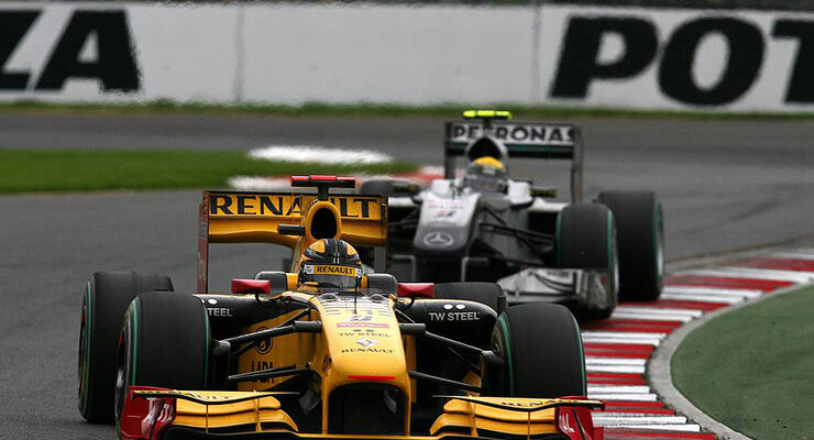 Robert Kubica, Nico Rosberg, Formel 1