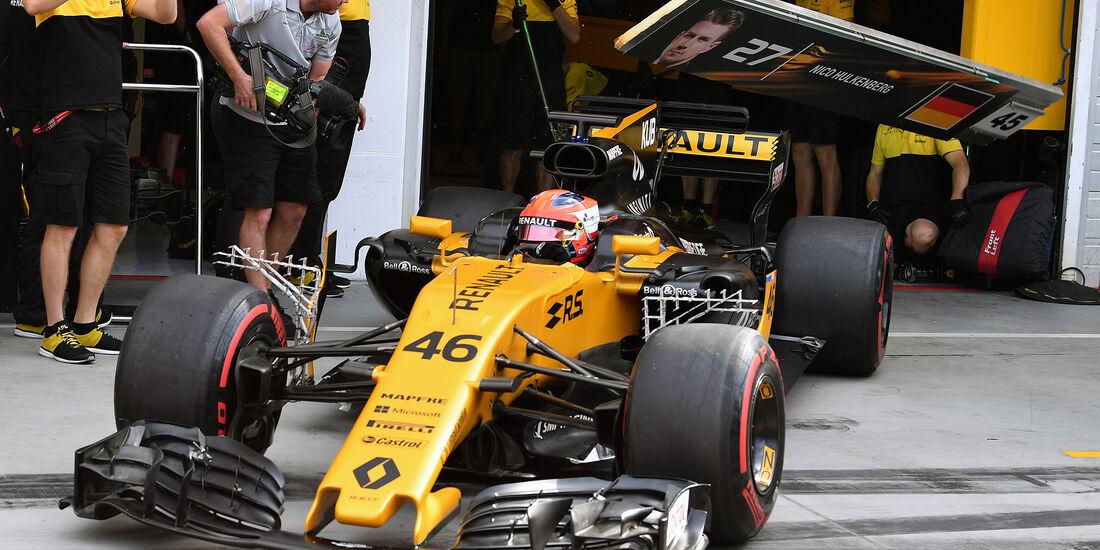 Robert Kubica - Renault - Formel 1 - Budapest - Test - 2. August 2017