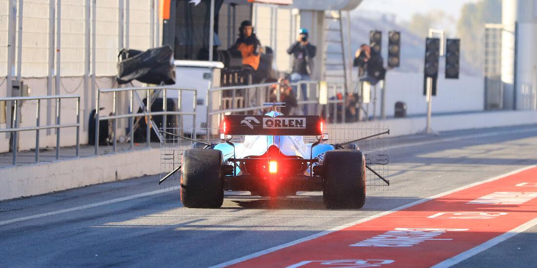 Robert Kubica - Williams - Barcelona - F1-Test - 27. Februar 2019