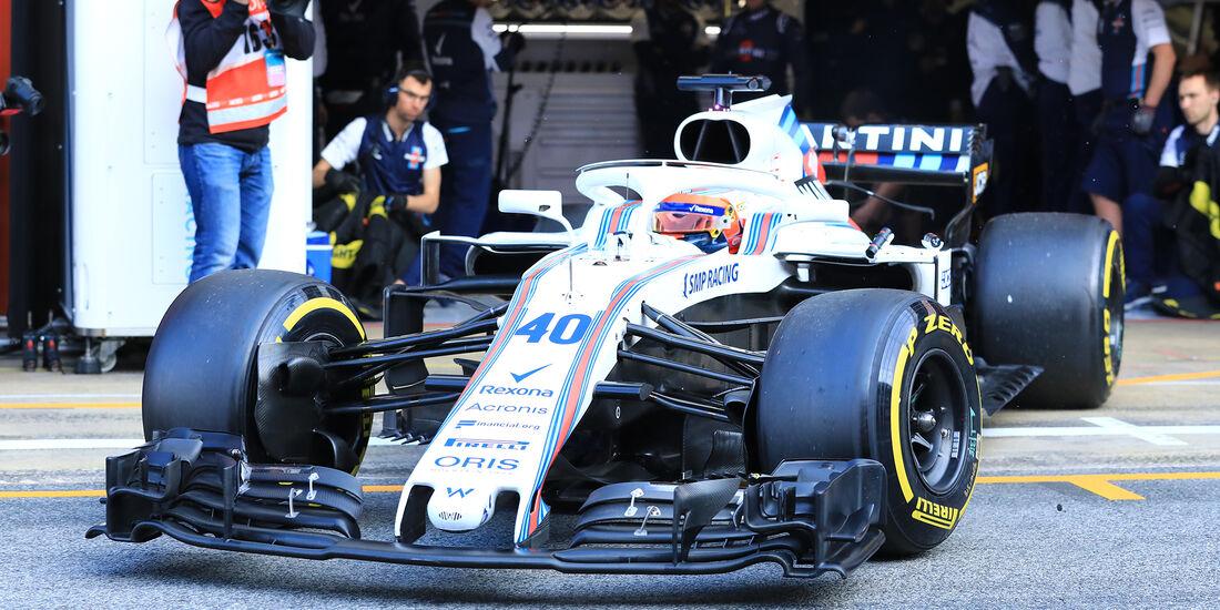 Robert Kubica - Williams - F1-Test - Barcelona - Tag 7 - 8. März 2018