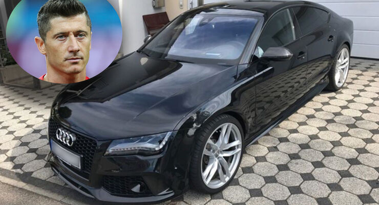 Robert Lewandowski Audi RS7