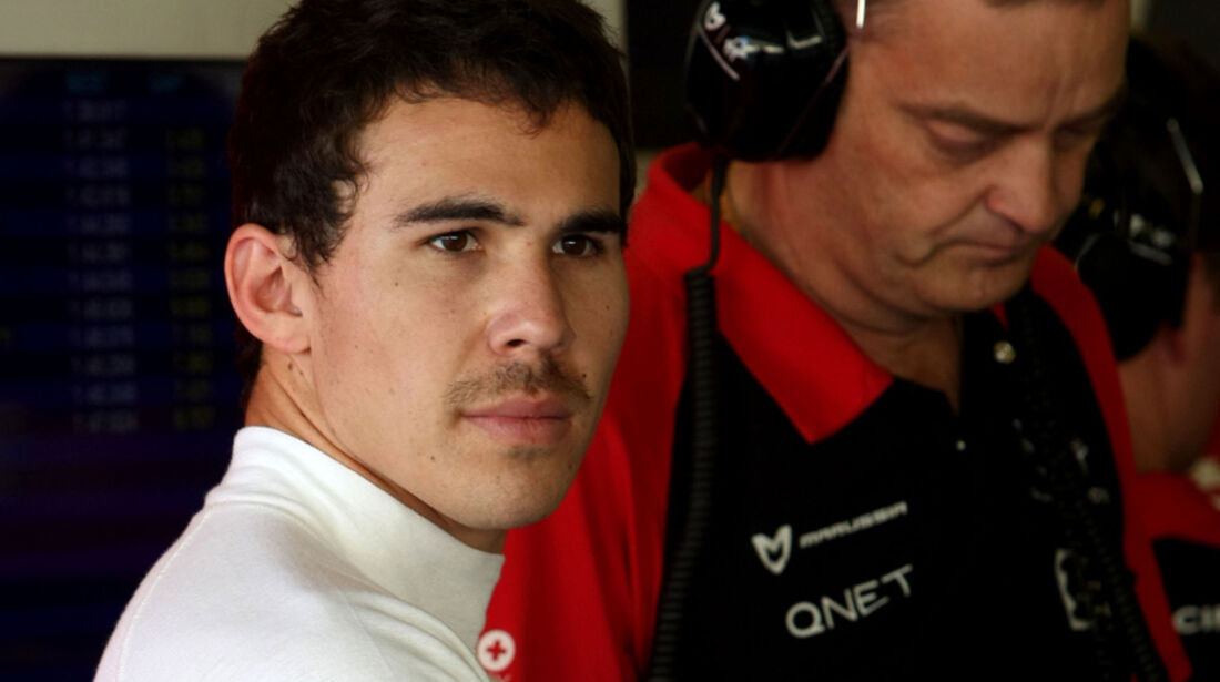 Robert Wickens - Virgin - Young Driver Test - Abu Dhabi - 17.11.2011