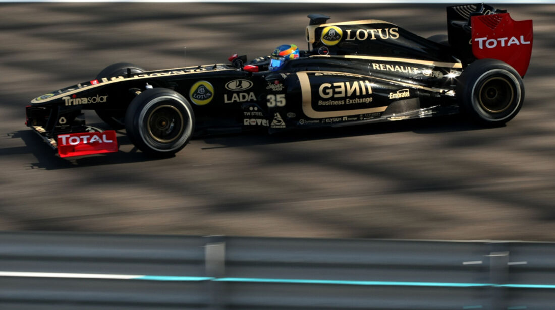 Robert Wickens Young Driver Test Abu Dhabi 2011