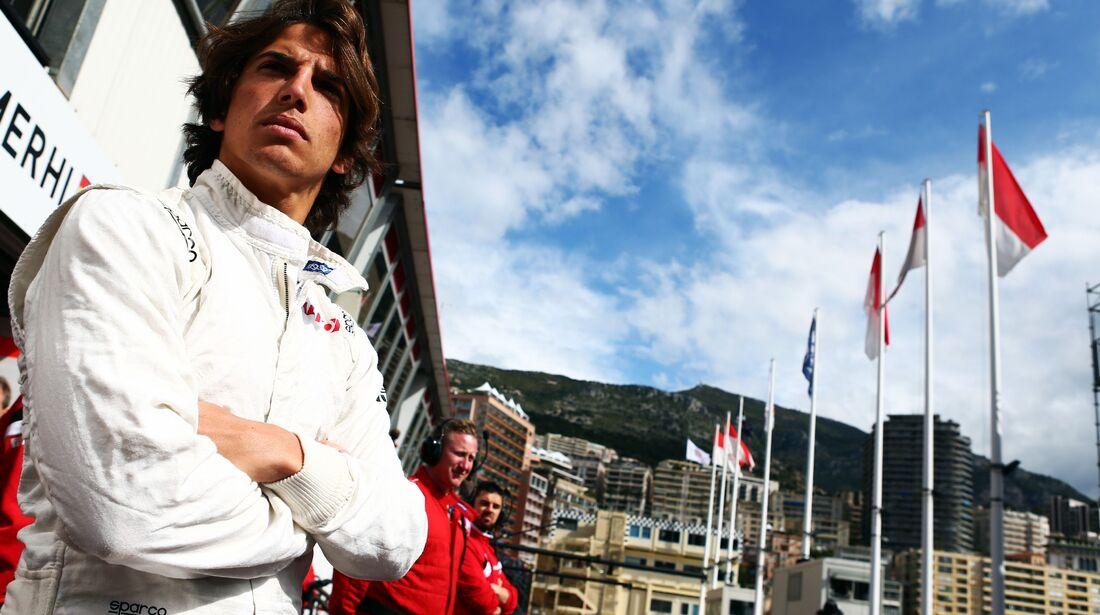 Roberto Merhi  - Formel 1 - GP Monaco - Donnerstag - 21. Mai 2015