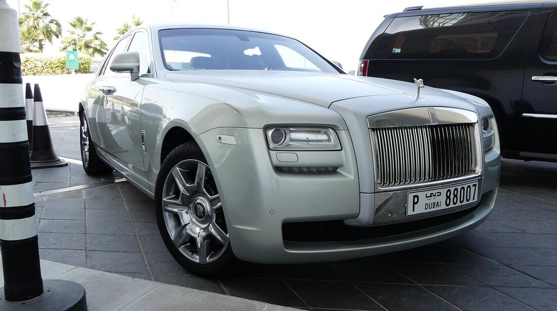 Rolls Royce - Carspotting - GP Abu Dhabi 2016