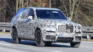 Rolls-Royce Cullinan Erlkönig
