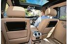 Rolls-Royce Ghost EBW, Innenraum, Sitze, Bildschirme