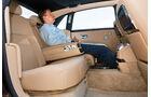 Rolls-Royce Ghost EBW, Rücksitz, Innenraum