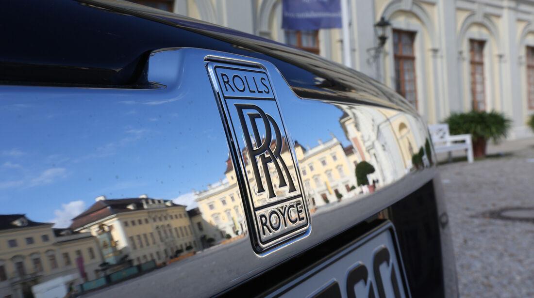 Rolls-Royce Ghost, Emblem, Kühlergrill