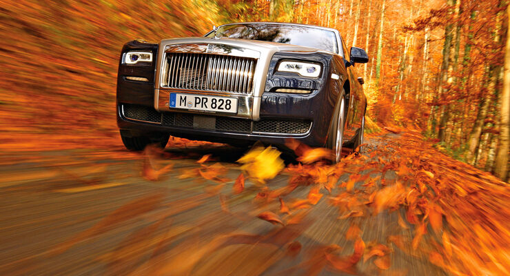 Rolls-Royce Ghost, Frontansicht