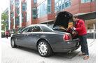 Rolls-Royce Ghost, Kofferraum, Heckklappe