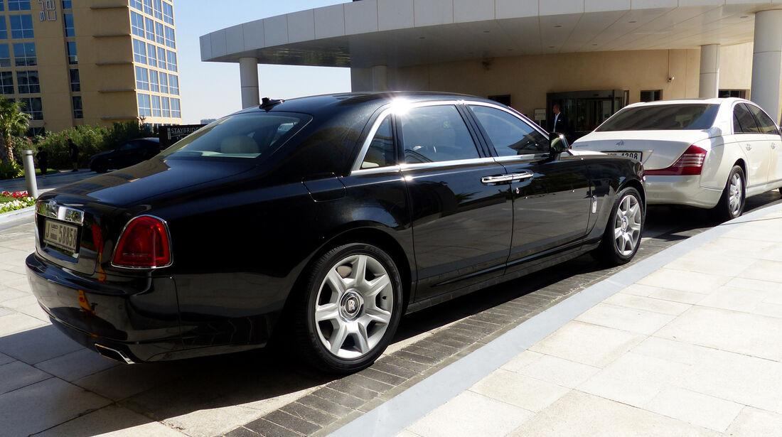 Rolls Royce Ghost & Maybach - F1 Abu Dhabi 2014 - Carspotting