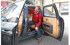 Rolls-Royce Ghost, Rücksitz, Aussteigen