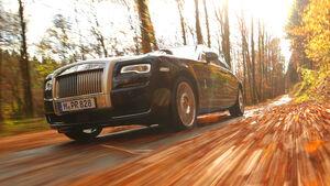 Rolls-Royce Ghost, Seitenführung