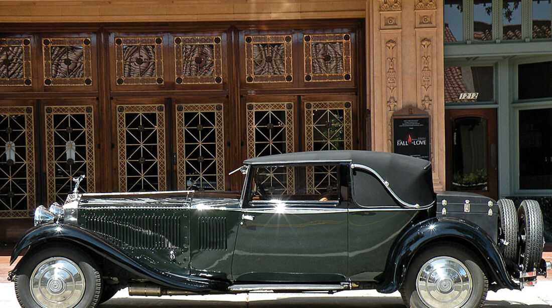 Rolls-Royce Phantom II Close Coupled Coupé