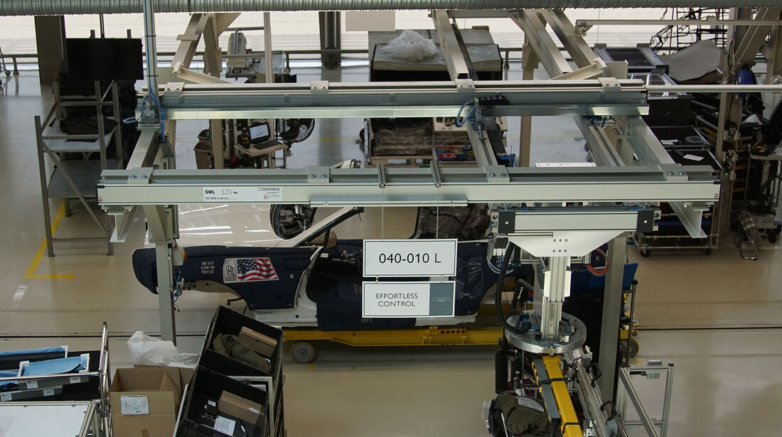 Rolls-Royce-Werk in Goodwood