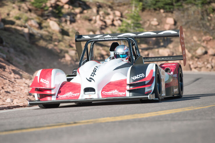 Romain Dumas - 2016 Norma M20 RD Limited - Pikes Peak International Hillclimb 2016