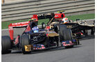 Romain Grosjean - Daniel Ricciardo - Formel 1 - GP China - 14. April 2013