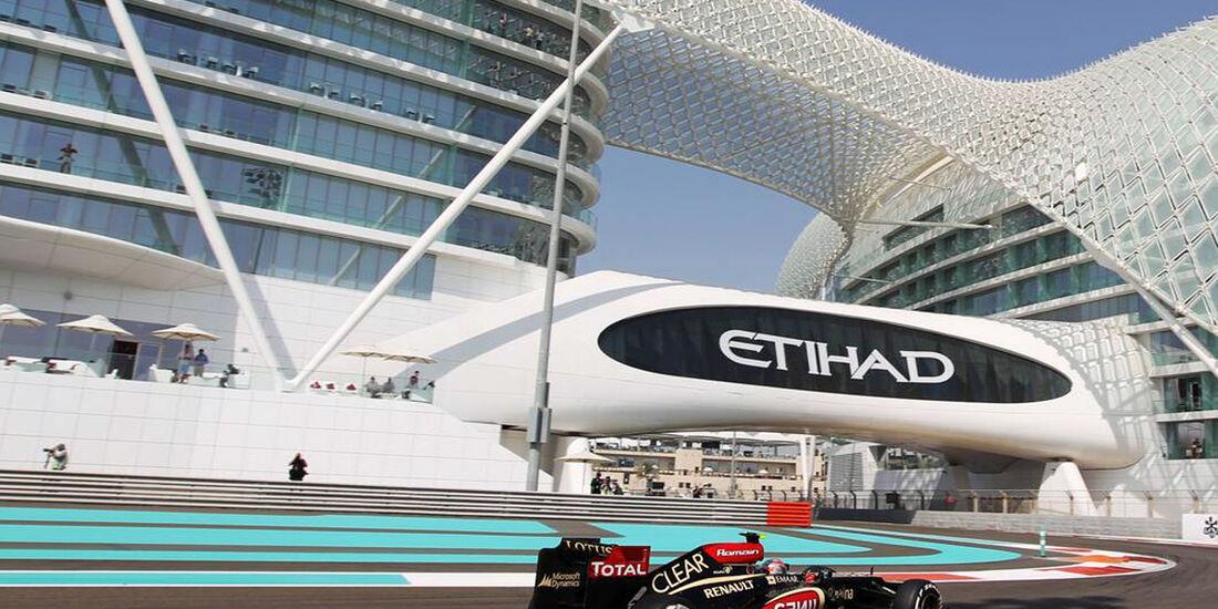 Romain Grosjean  - Formel 1 - GP Abu Dhabi - 01. November 2013