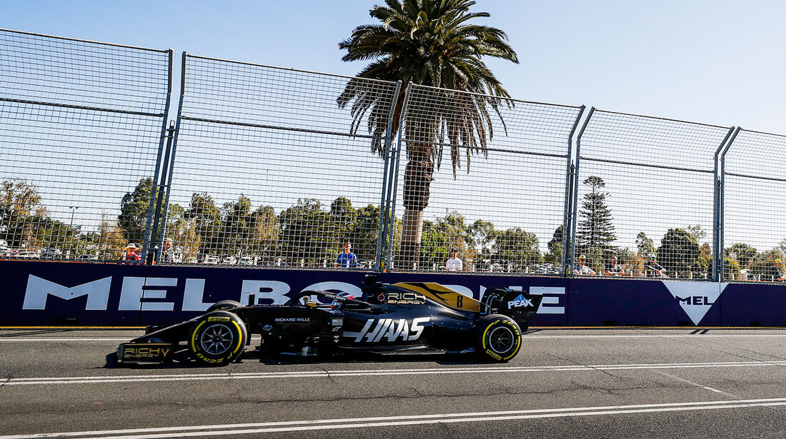 Romain Grosjean - Formel 1 - GP Australien 2019